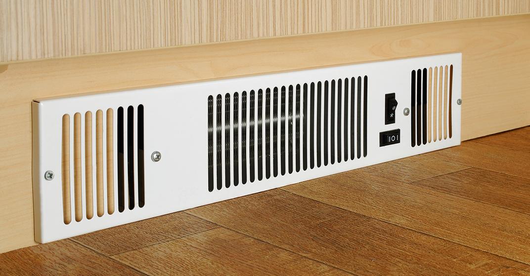 Sockelheizung Elektrische Warme Aus Der Fussbodenleiste Wohnnet At